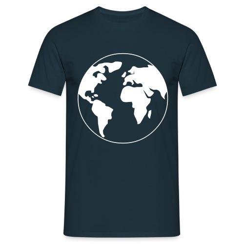 Welt - World - Männer T-Shirt