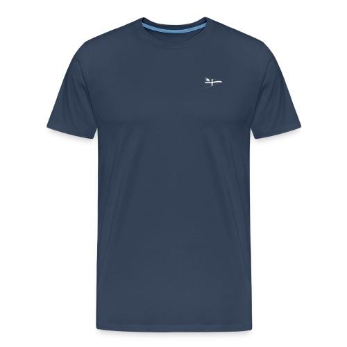 Männer T-Shirt, ROYC klein/einfarbig Flock-Druck - Männer Premium T-Shirt