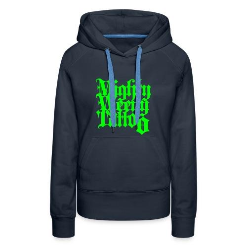 Mightyweeny Custom NEON GRÜN Lady Hoody - Frauen Premium Hoodie