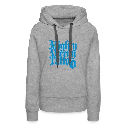 Mightyweeny Custom HELL BLAU Lady Hoody - Frauen Premium Hoodie