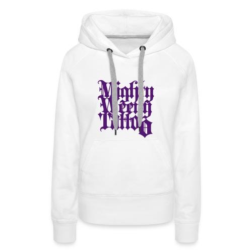 Mightyweeny Custom LILA Lady Hoody - Frauen Premium Hoodie