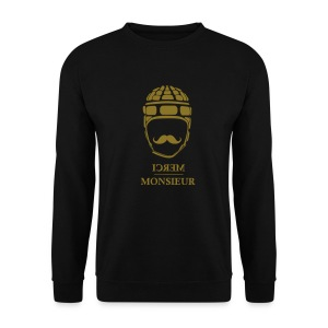 Monsieur joue au rugby #Gold - Sweat-shirt Homme
