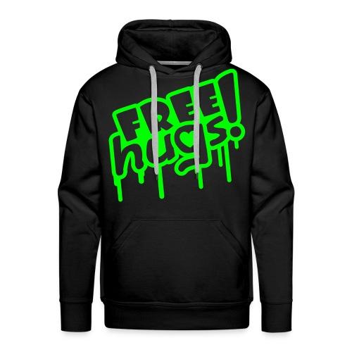 FREE hugs genser! - Premium hettegenser for menn