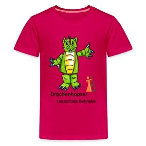 Drachenhopser 7-9 Jahre - Teenager Premium T-Shirt