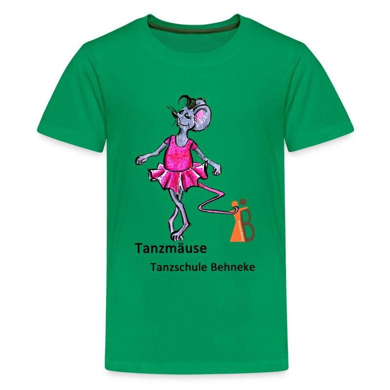 Tanzmäuse 3-5 Jahre - Teenager Premium T-Shirt