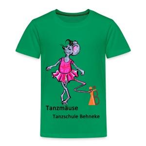 Tanzmäuse 3-5 Jahre - Kinder Premium T-Shirt