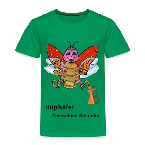 Hüpfkäfer 5-7 Jahre - Kinder Premium T-Shirt
