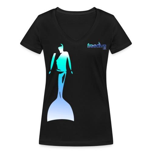 Mono womens - Women's Organic V-Neck T-Shirt by Stanley & Stella