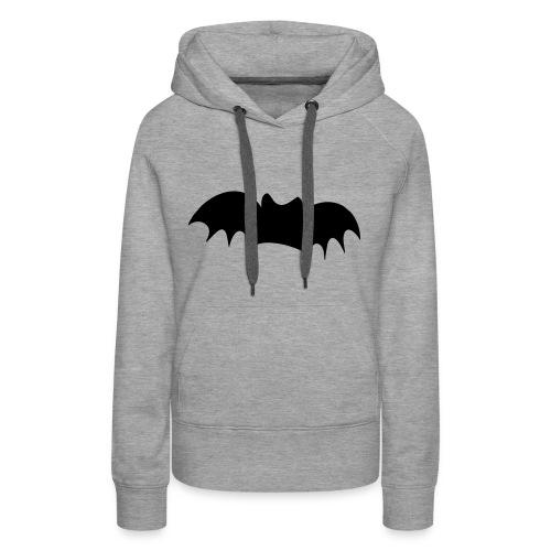 Bat Hoodie - Damer - Dame Premium hættetrøje