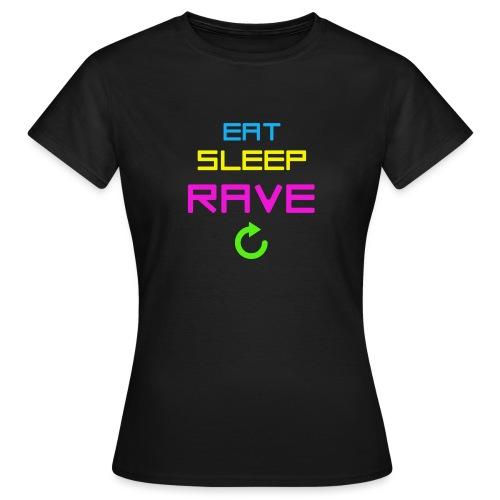 eatsleep - Women's T-Shirt
