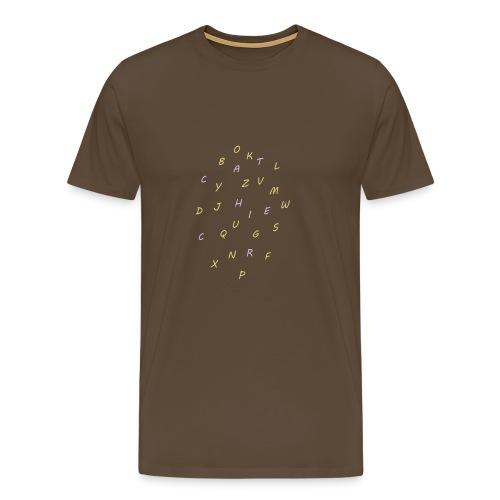 T-Shirt Catcher-ABC - Männer Premium T-Shirt