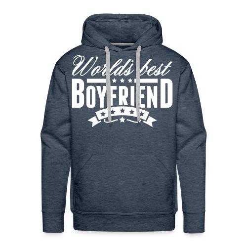 Worlds Best Boyfriend - Men's Premium Hoodie