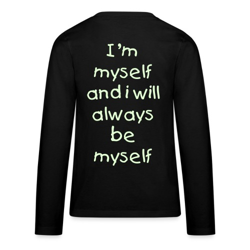 me, myself and I - Teenager Premium shirt met lange mouwen