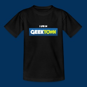 I live in Geektown (Kids T-Shirt) - Kids' T-Shirt