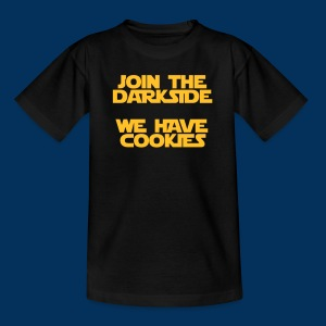Join the Darkside - we have cookies (Teen) - Teenage T-shirt