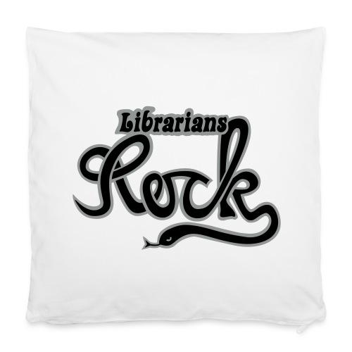 LIBRARIANS ROCK - Kuddöverdrag 40 x 40 cm