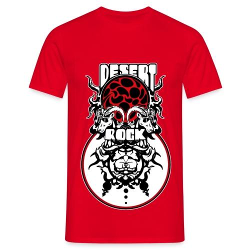 Tee-shirt Desert-Rock rouge - V2 - T-shirt Homme