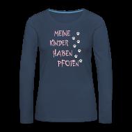 Langarmshirts ~ Frauen Premium Langarmshirt ~ Meine Kinder