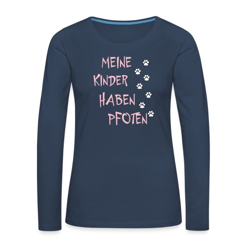 Meine Kinder - Frauen Premium Langarmshirt