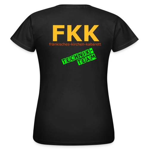 FKK-Roadie-Shirt - Frauen T-Shirt