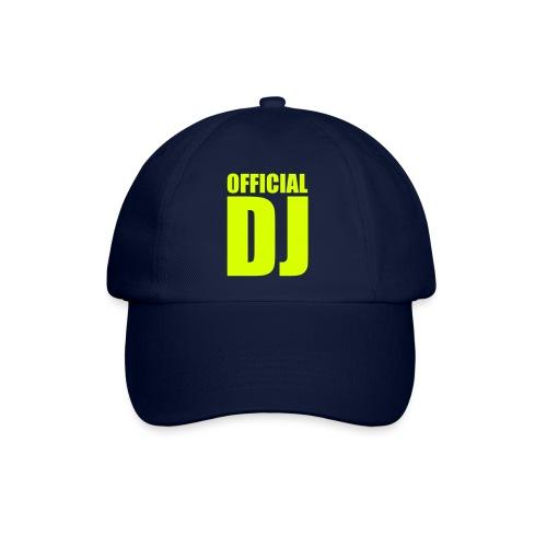 Official DJ Basseball cap - Baseballcap