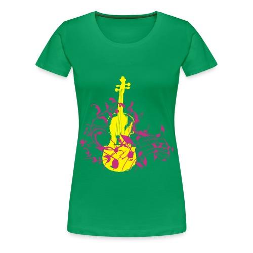 Music shirt - Vrouwen Premium T-shirt