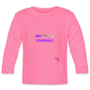 T-shirt believe in yourself - T-shirt manches longues Bébé