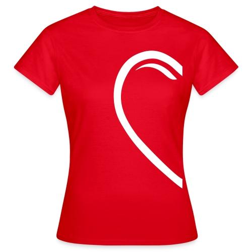 Valentin-Special - Damenshirt rechts - Frauen T-Shirt