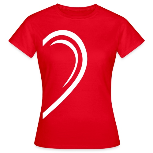 Valentin-Special - Damenshirt links - Frauen T-Shirt