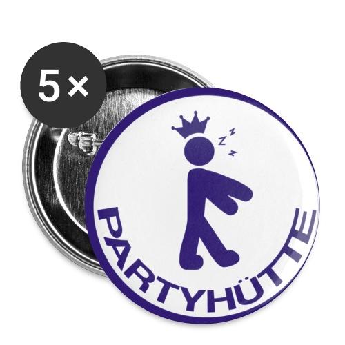 Partyhuette Buttons - Buttons klein 25 mm
