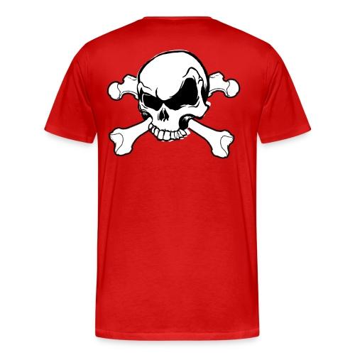 Cool skull shirt - Mannen Premium T-shirt