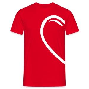 Valentin-Special - Herrenshirt rechts - Männer T-Shirt