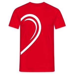 Valentin-Special - Herrenshirt links - Männer T-Shirt