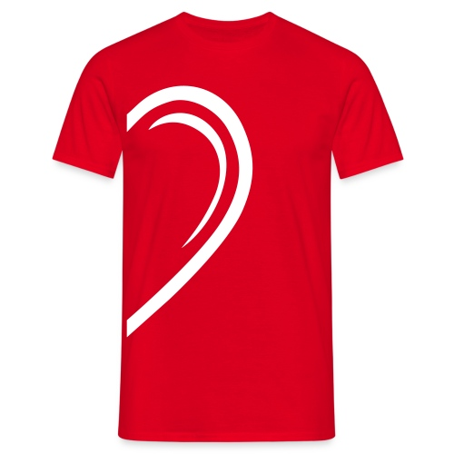 Valentin-Special - Herrenshirt links - Männer T-Shirt