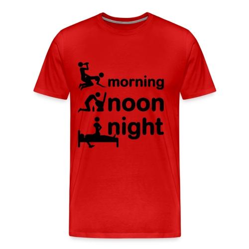 Shirt for real men - Mannen Premium T-shirt