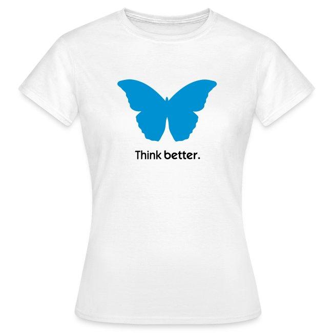 Think Better MorphOS, blau-schwarz