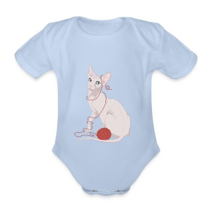 Body baby  - Body ecologico per neonato a manica corta