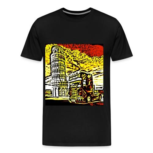 Sunset Pisa - Männer Premium T-Shirt