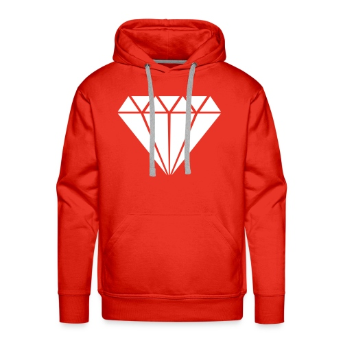 Diamond Hoodie - Mannen Premium hoodie