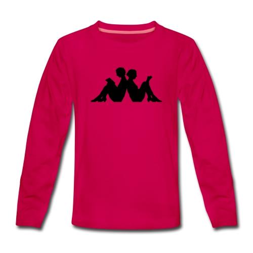 LÄSRO - Långärmad premium-T-shirt tonåring