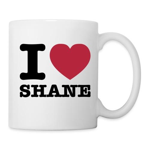 I Love Shane - Tasse - Tasse