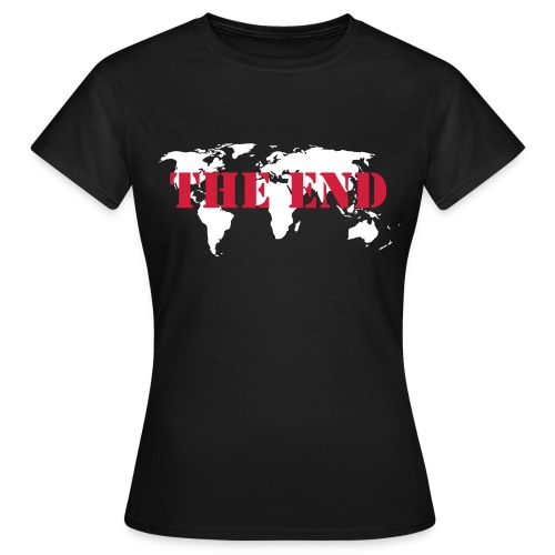 The End Frauen T-Shirt - Frauen T-Shirt