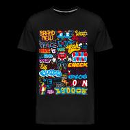 Tee shirts ~ T-shirt Premium Homme ~ WHAT2FUCK ?! PEKCE GRAFFITI 2009