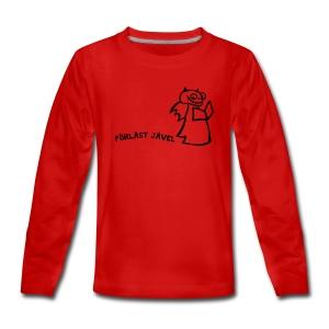 FÖRLÄST JÄVEL - Långärmad premium-T-shirt tonåring