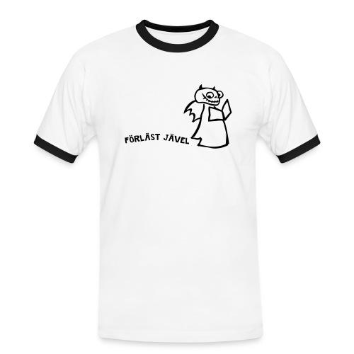 FÖRLÄST JÄVEL - Kontrast-T-shirt herr