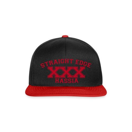 Straight Edge Hassia Snapback rot - Snapback Cap