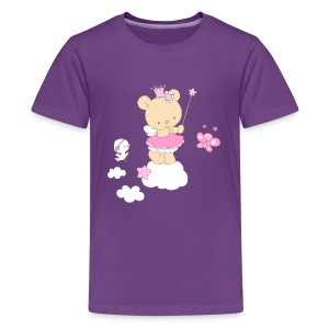 Magic Teddy Bear Princess Shirts - Teenage Premium T-Shirt