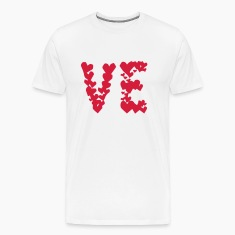 LOVE couple pair partner Heart Valentines Day gift T-Shirts