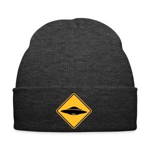 Panneau ovni X files bonnet - Bonnet d'hiver
