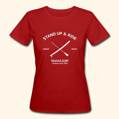 TShirt Bio Stand-Up - T-shirt bio Femme